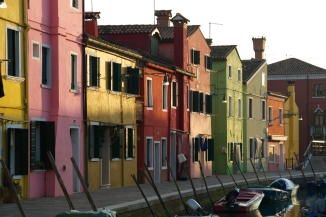 Burano's colors