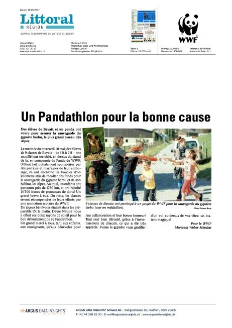 Publication for WWF Swiss